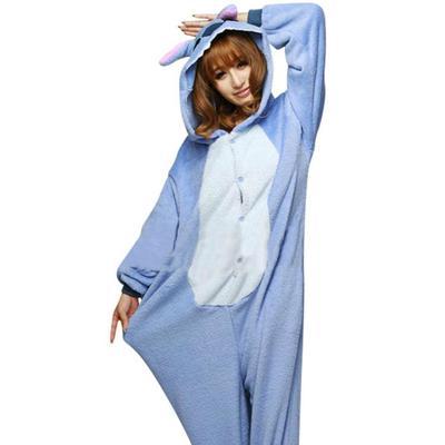 a39e7b81f Unisex Adult Onesie Pajamas Animal Cosplay Sleepwear Fancy Dress ...