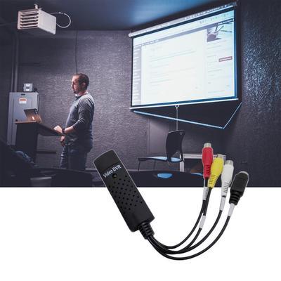 Tech Stor3 SCART Adapter f/ür SVHS S-Video und 3 Cinch f/ür EasyCap Video Grabber Switch
