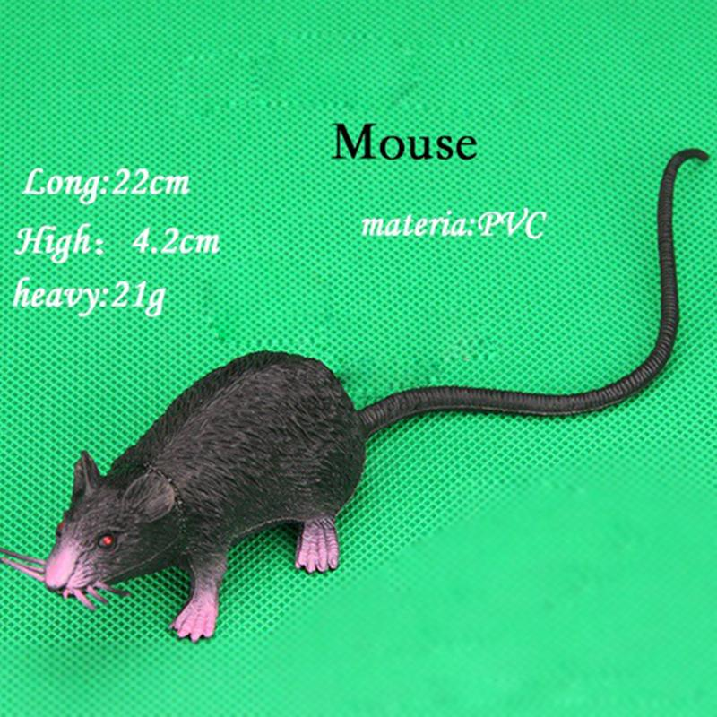 Hallowen Fake Rubber Plastic Rats Mouse Tricks Pranks Props Kids Toys Usef Nice