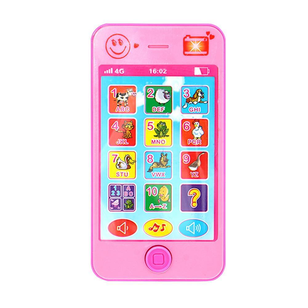 YPhone Musik Handy Simulator Touchscreen Pädagogisches Lernen Spielzeug für Baby