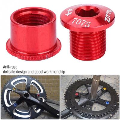 Plate Chainring Cycling Accessories Chain Wheel Screws Crankset Fixed Bolts