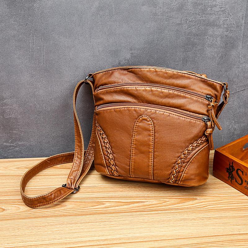 Womens CrossBody Bucket Bag Ladies Shoulder Handbag Faux Leather FREE UK P/&P