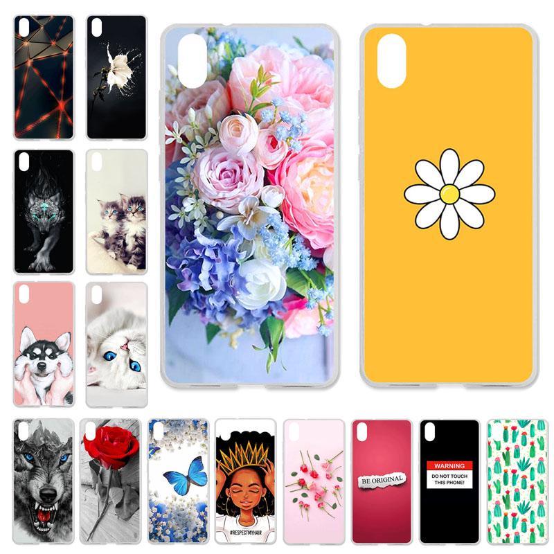 Akabeila Телефон Дела для Xiaomi Redmi 7A Xiaomi Redmi7A Обложка Силиконовая дело Симпатичный мешок протектор фото