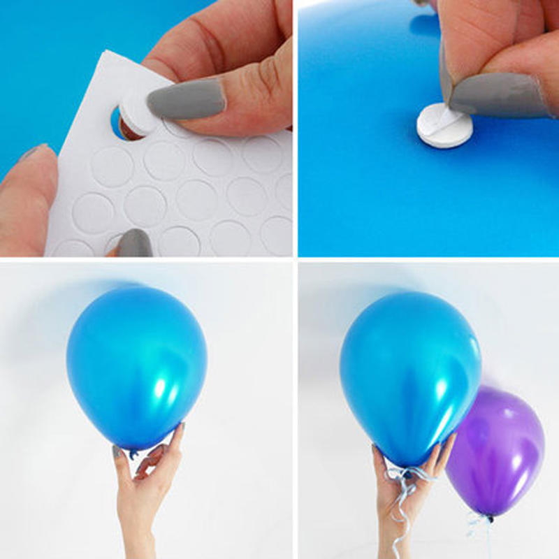 1set/100pcs повітряна куля прикрашений Traceless піна гумки плями побутової вітчизняних клей піни