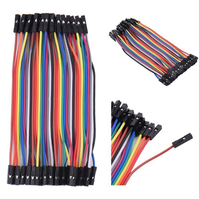 M-F M-M F-F Dupont Alambre Breadboard Jumper Cables salto Arduino Cinta de Plomo 40 un