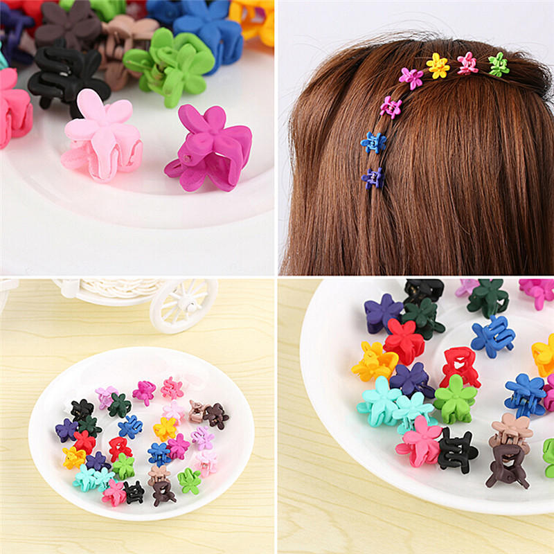 5pcs Baby Infant Girls Children Flower Hair Pin Clips Hairpin Accessories BR