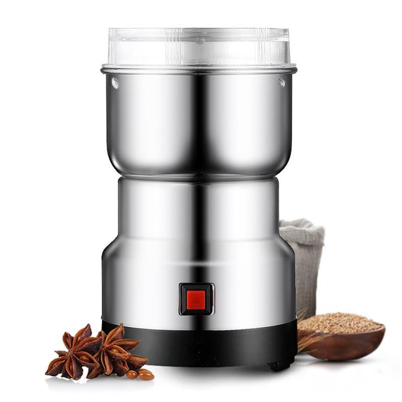 Household Small Grinder Grain Grinder Coffee Bean Grinder