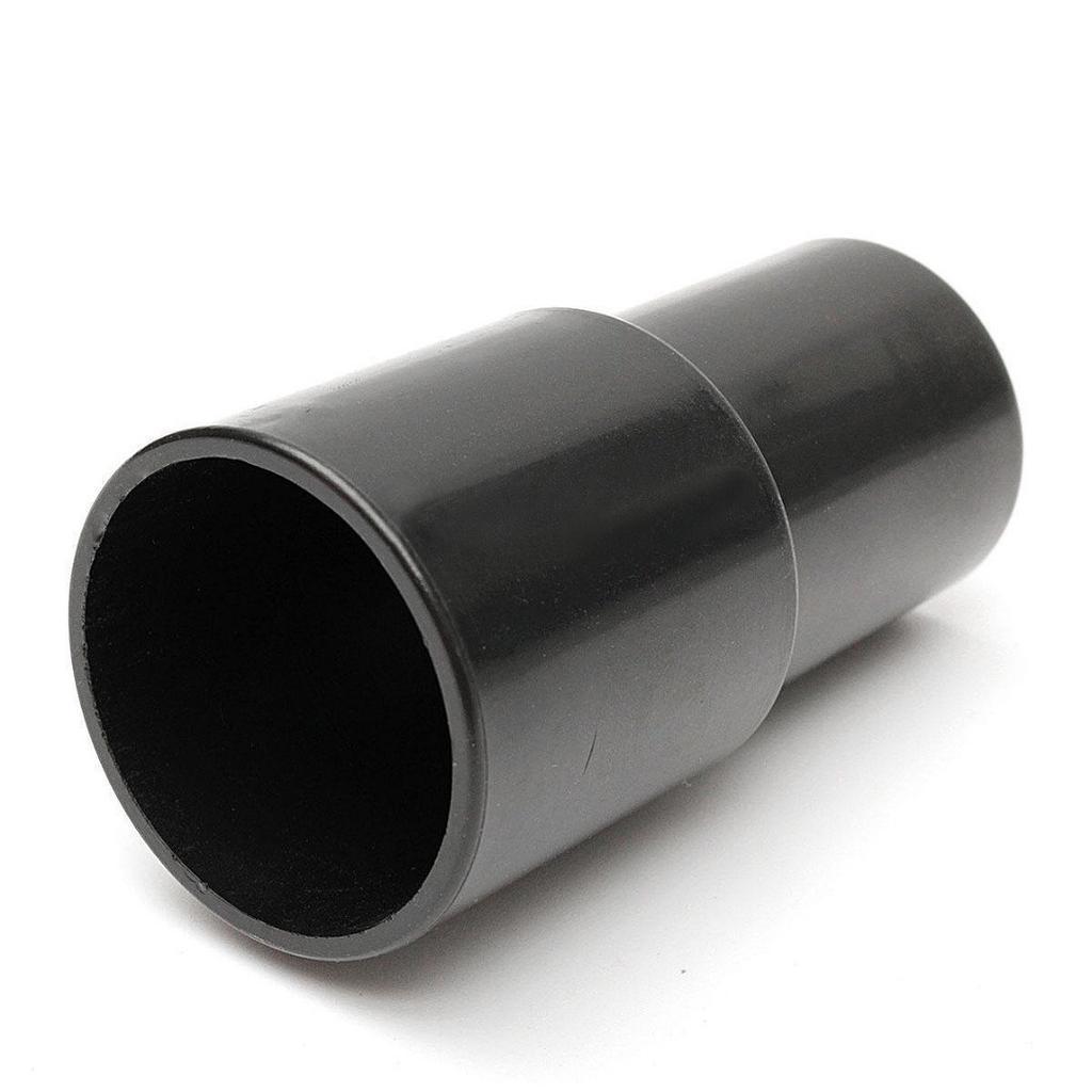 35mm Vacuum Cleaner Plastic Hose Adapter Converter Black 2pcs 32mm to 32mm