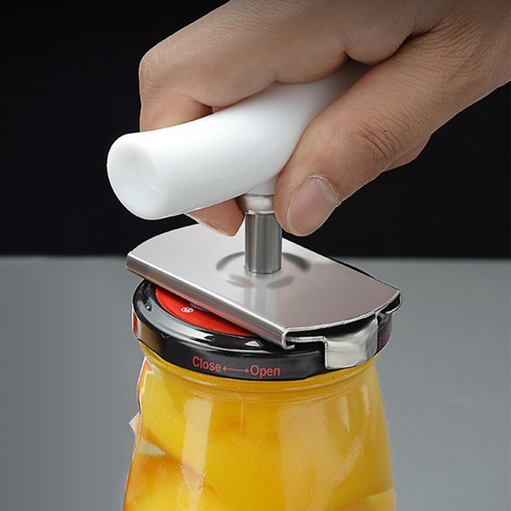 Adjustable Jar Lid Easy Bottle Remover Tool Stainless Steel Can Opener Kitchen