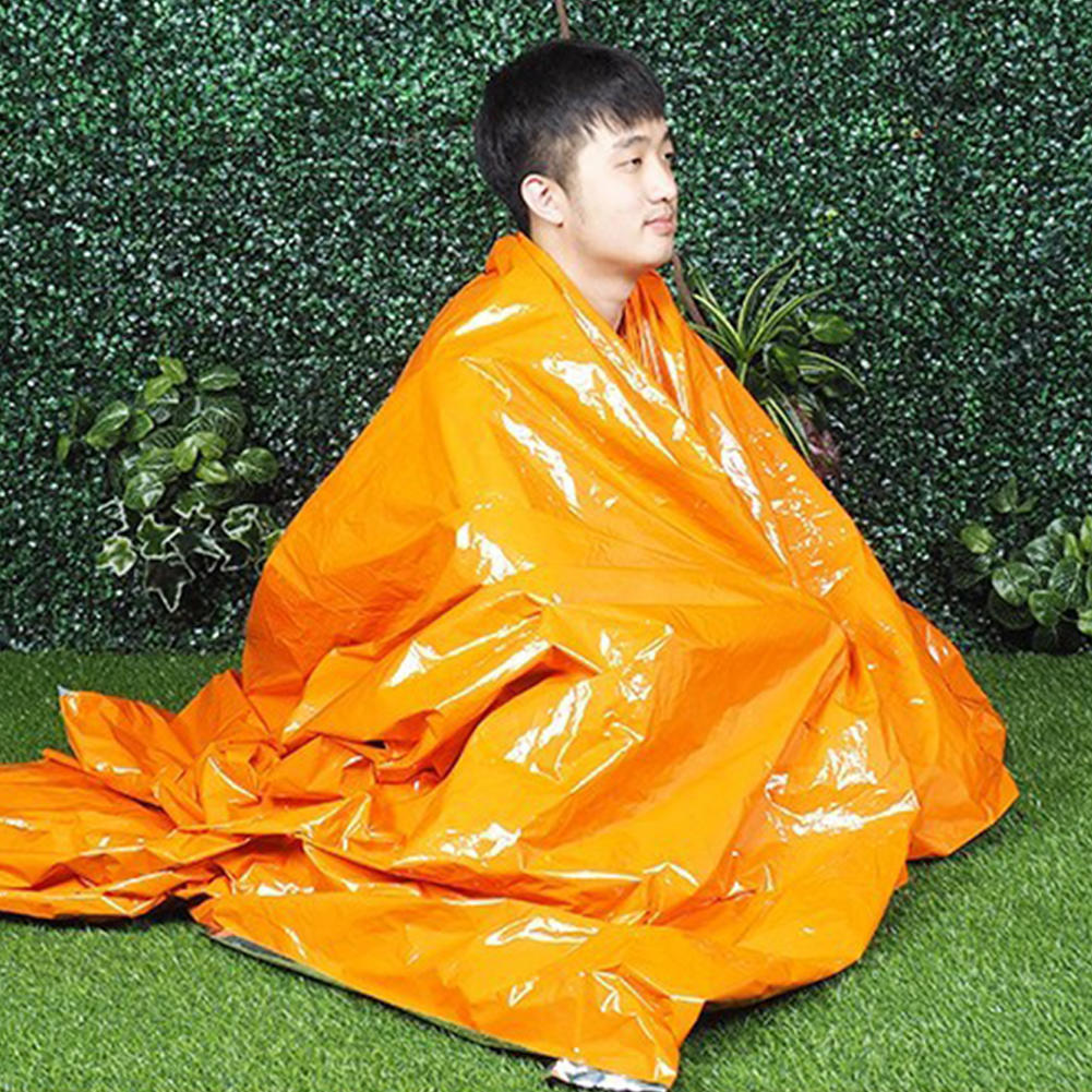 First-Aid Survival Outdoor Camping Emergency Mat Thermal Insulation Blanket Tent