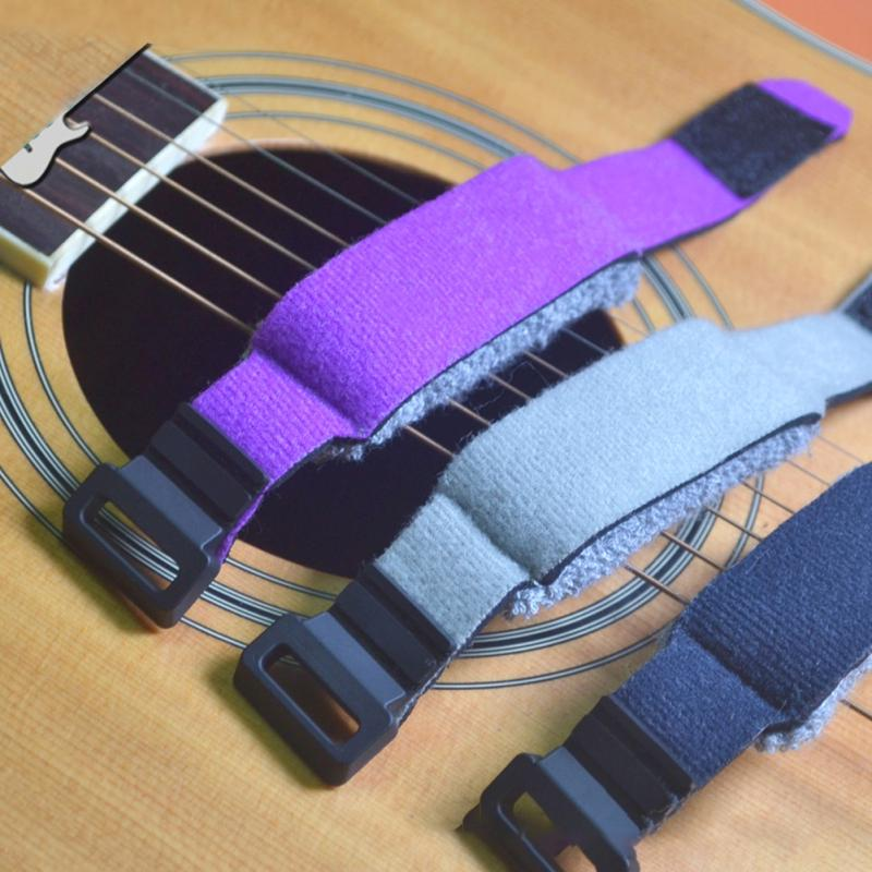 Guitar Fret Strings,Guitar Fretwraps String Mute Dampeners Strap Muter Fretboard Wraps for Acoustic Classic Guitars Bass 6-string Electric Acoustic Guitar,Deep Blue