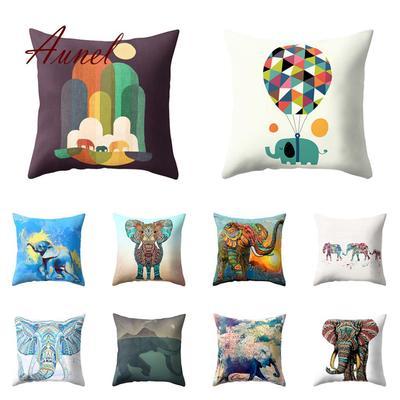 Lion Imposing Cover Pillow Case Cushion Decor Home Polyester Sofa Animal Throw