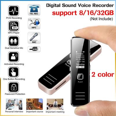 Tragbare Lärm Reduktion Mini 4 Gb-32 Gb Kamera Aufnahme Stift Voice Recorder Mini Camcorder Digital Tragbares Audio & Video Digital Voice Recorder