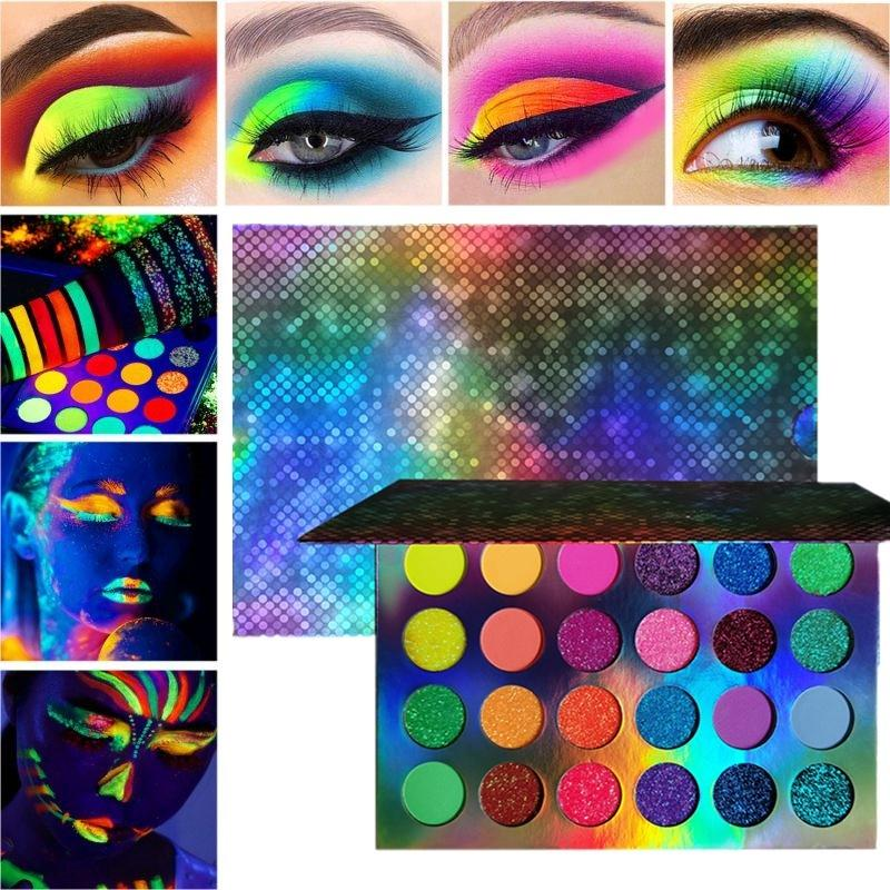 24 Colors Eyeshadow Palette Glow In The