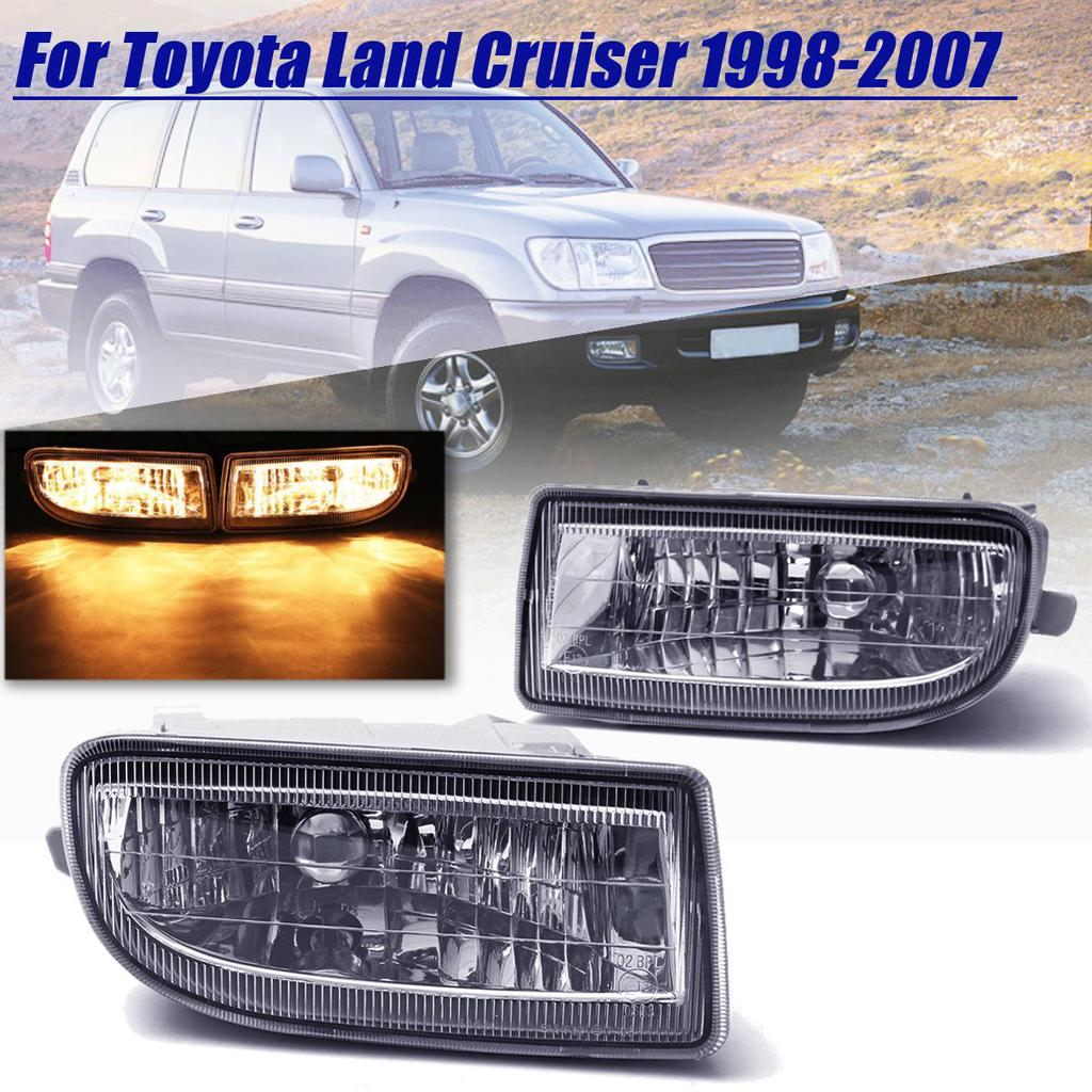 2x 55W 9LED White Fog Light Driving Lamp Fits Toyota Camry Corolla Rav4 Prius