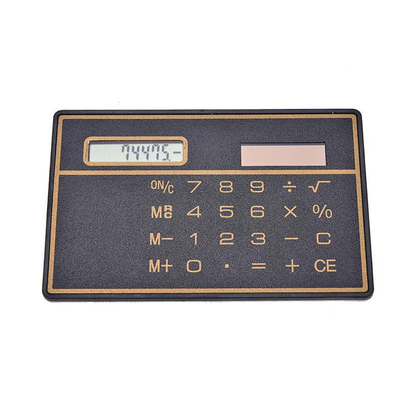 太阳能计算器 迷你卡片计算器 计算器