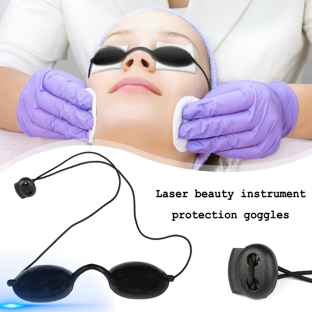 Details about  /200nm-2000nm IPL Laser Protection Eyepatch Beauty Patient Eyewear Black