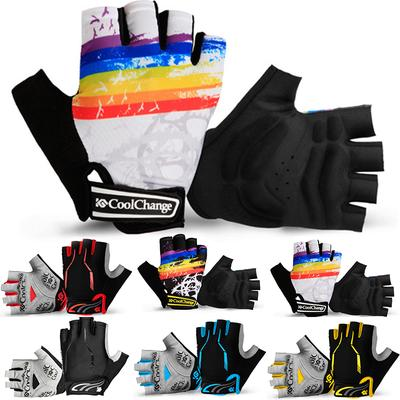 Sports Racing Cycling Motorcycle Bike Bicycle Half Finger Gloves women //Men Pair