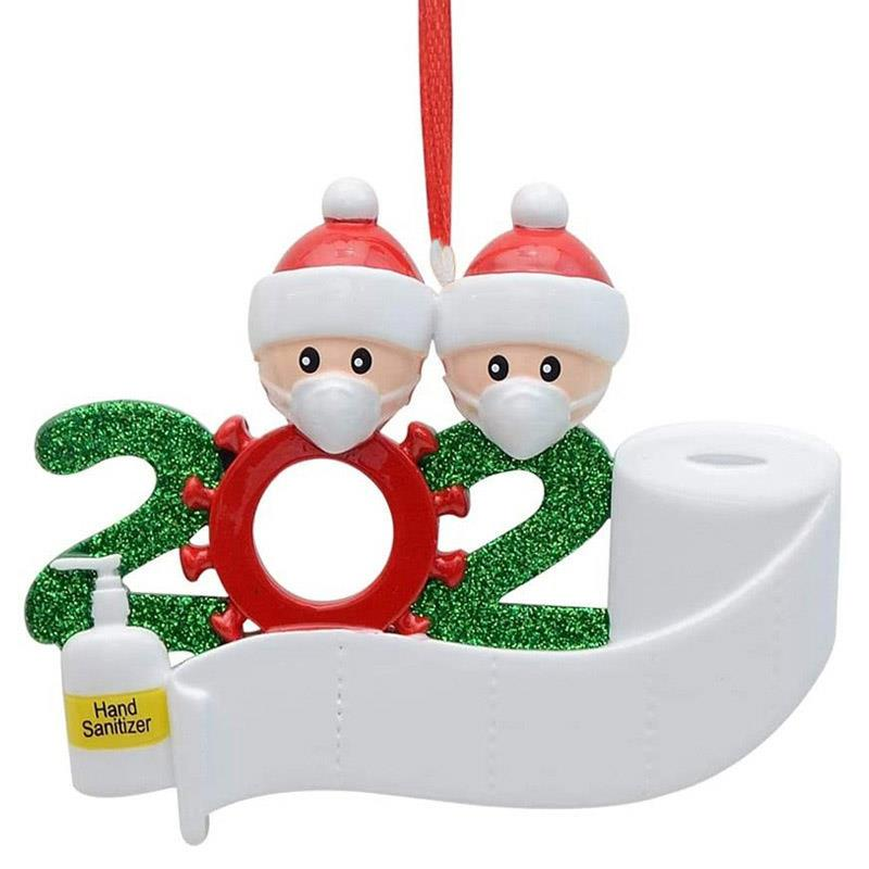 2020 Snow Family Santa Christmas Home Party Hanging Ornaments Decorations Gifts!