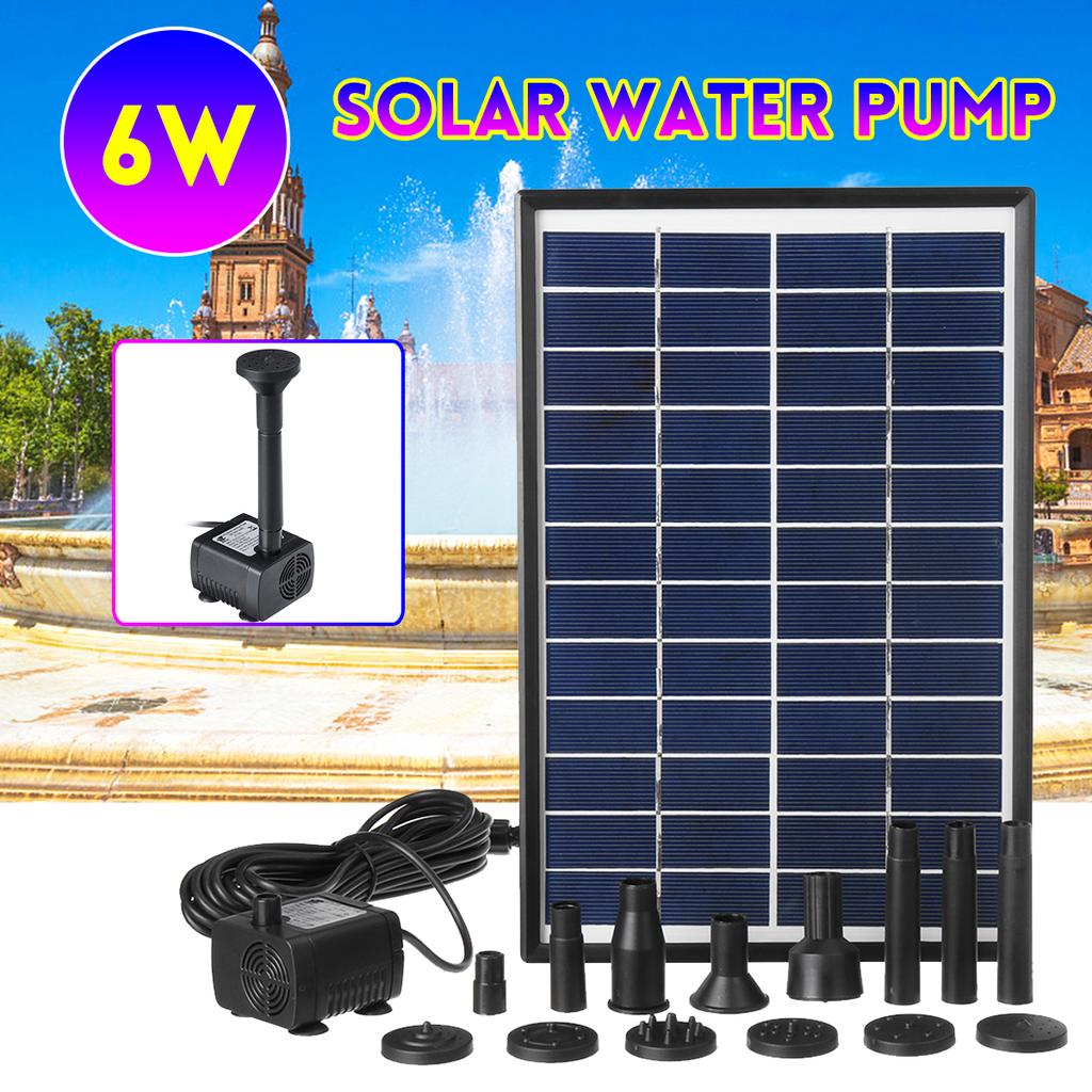 Fydun Solar High Temperature Water Pump 12V 10W DC Brushless Water Pump for Circulation Pumping