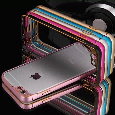 Aviation Aluminum Metal Bumper Case Cover For Iphone 6 (Color: Rose)