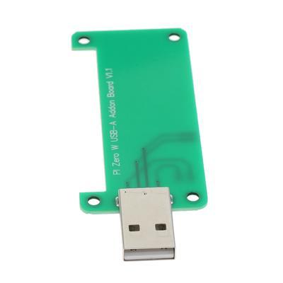 Acrylic Case Raspberry Pi Zero W Zero USB-A Addon Board USB Connector V1.1 RPi0