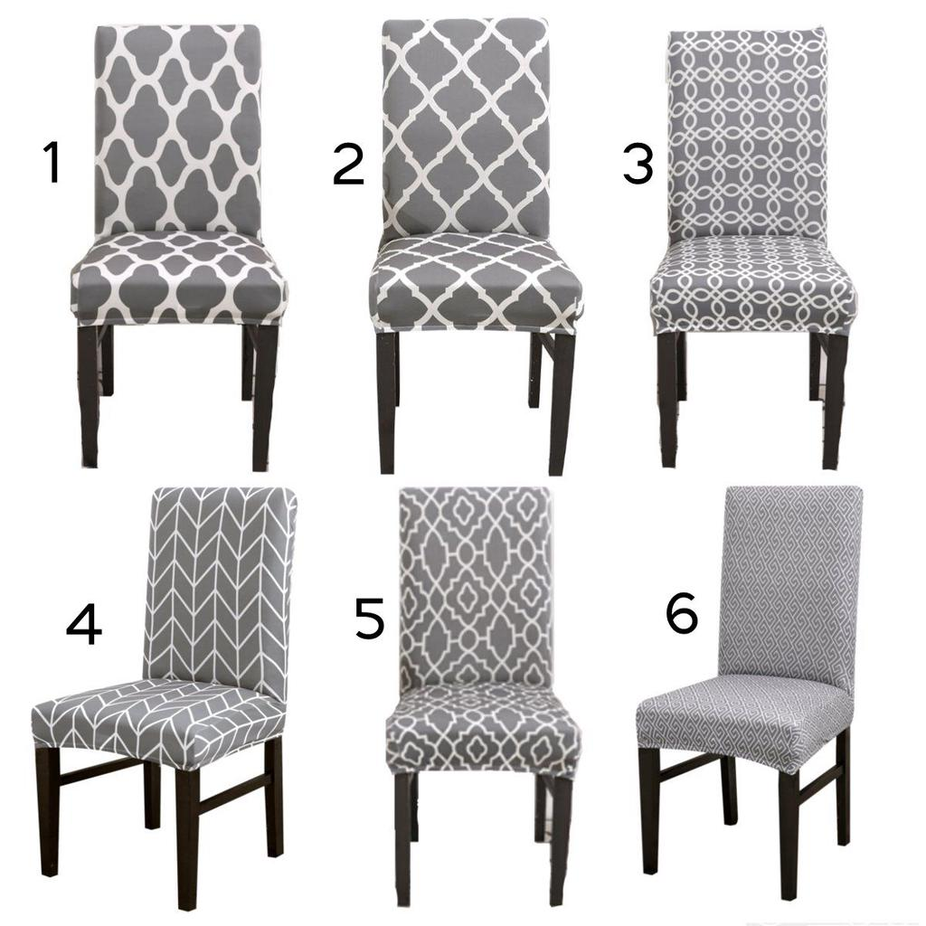 1PC Home Dining Room Spandex Chair Slipcover Seat Cover Stretch Chair Covers