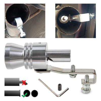 Accessories Tail Exhaust Muffler Pipe Turbo Sound Simulator Whistle