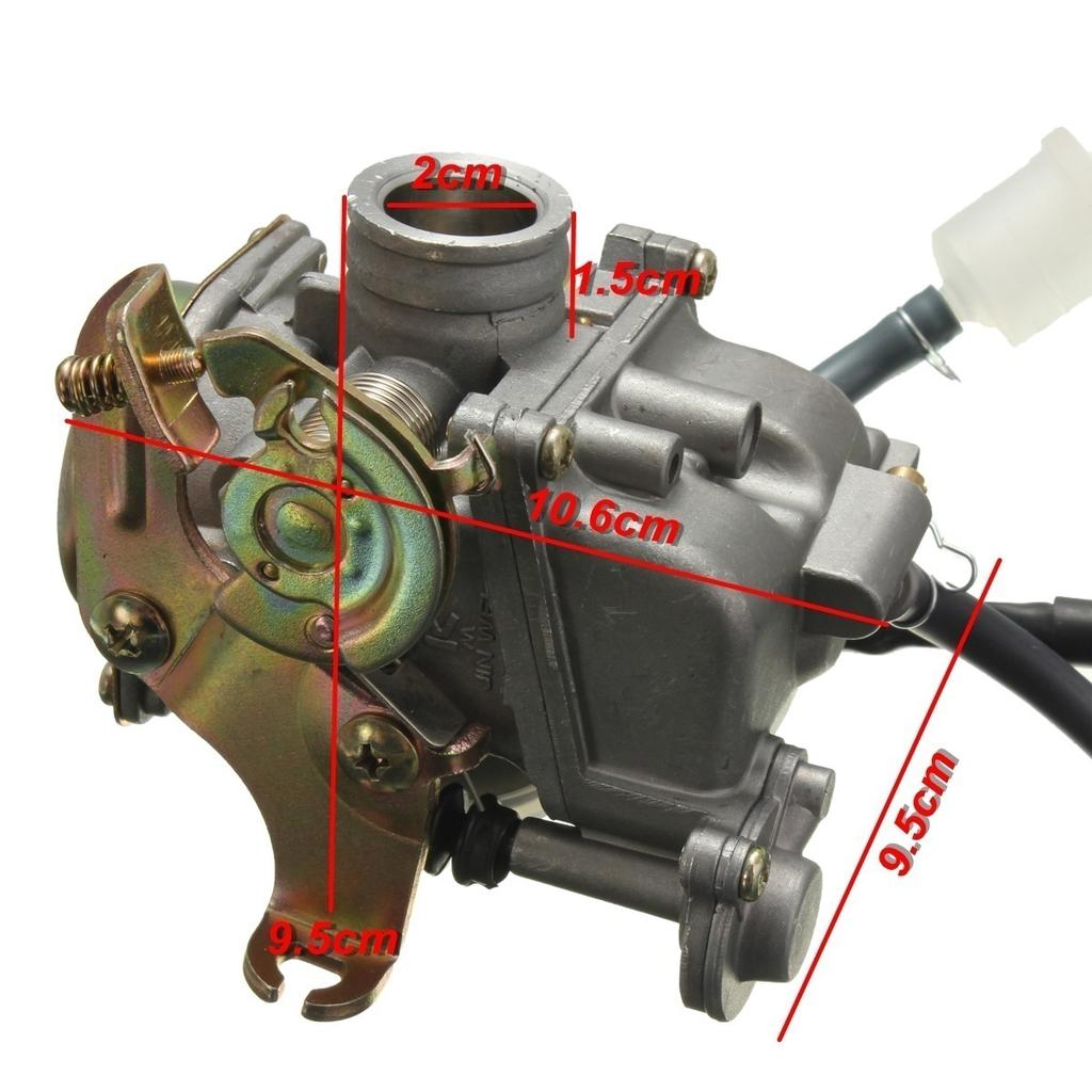 Carburetor /& Manifold Intake Boot For Gator X-Treme Lifan Roketa 50cc Moped