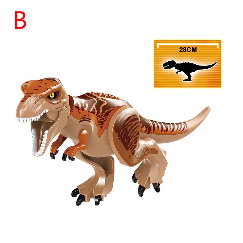 21cm ABS Große Ziegel Baustein Dinosaurier Dark Pterosaur Raptor Ornaments Neu