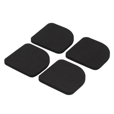 4 Pieces Slip Lavage Laveuse Pad Refrigerateur Bruit Reduisant