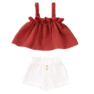2pcs Toddler Girls Kids Floral Lace Tops Shorts Summer Outfits Set Clothes Buy At A Low Prices On Joom E Commerce Platform