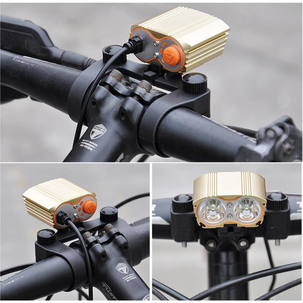 Bike Bicycle Flashlight Lamp Light Holder Plastic Bracket Mount Clamp