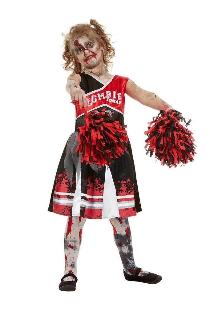 Smiffys 51079m Zombie Cheerleader Costume For Red Girl Size M 7 9 Years Old Buy At A Low Prices On Joom E Commerce Platform