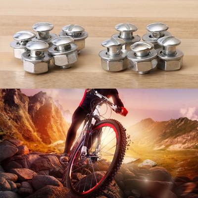 10Pcs New Roble Buckle Bicycle Brake Cable Tube Device Ring Clamp Useful H