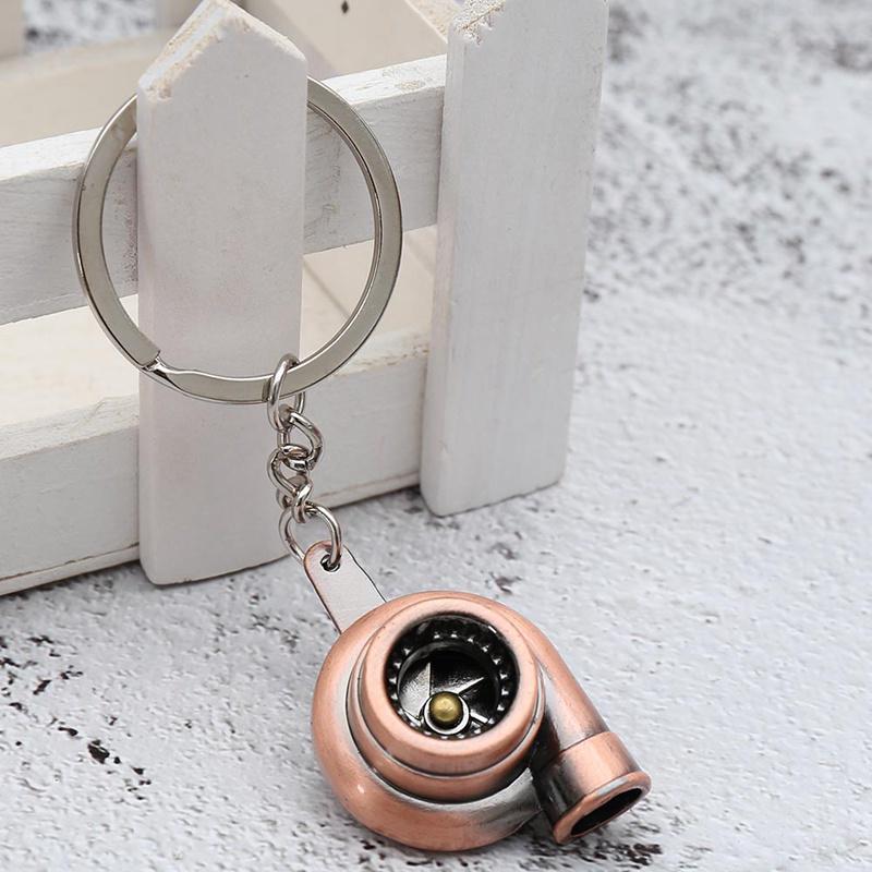 Coilover Damper Metal Unisex Pendant Shock Absorber Key Ring Key Chain