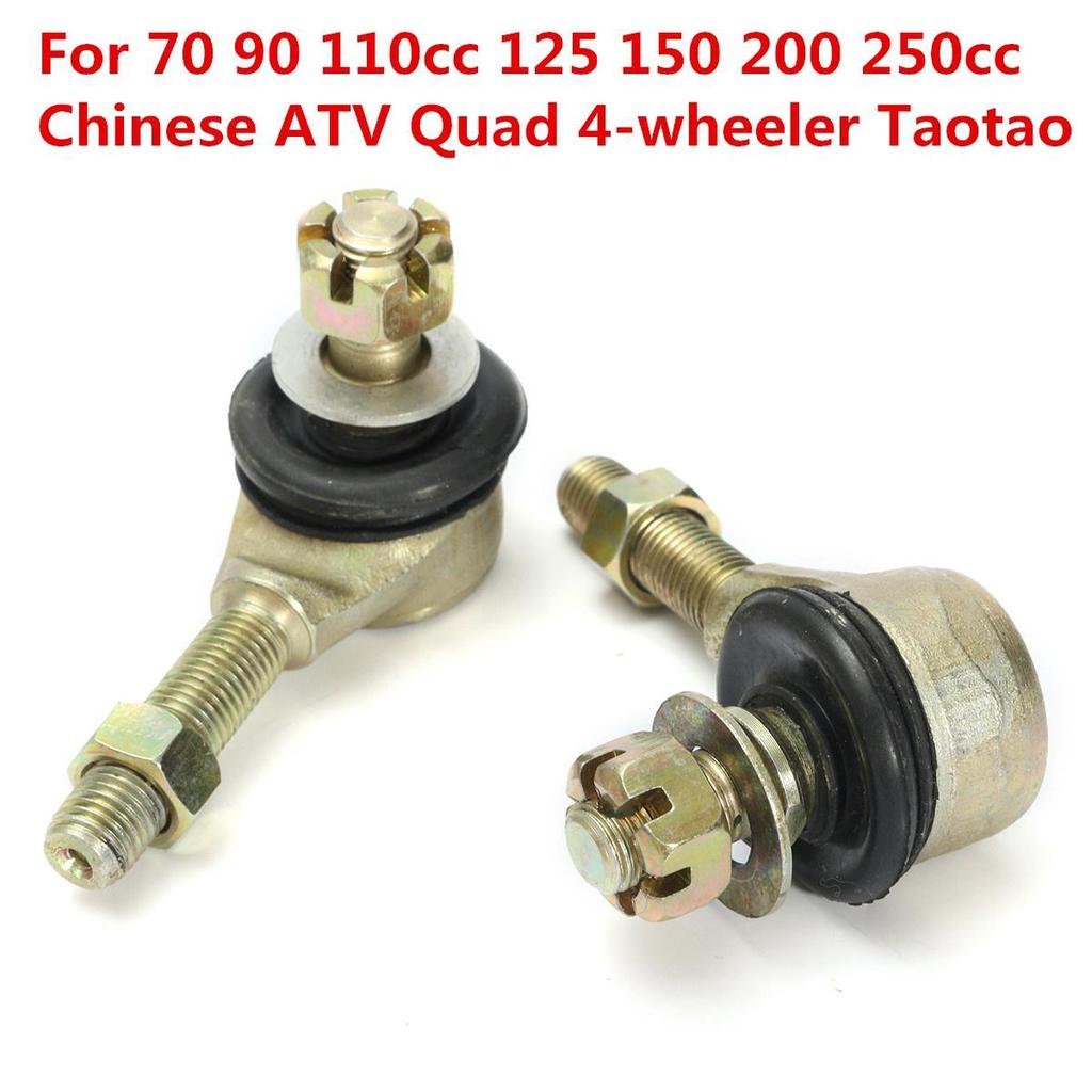 1 Pair M10 Tie Rod Ball Joint For 50cc 70cc 90cc 110cc 125cc 150cc 200cc 250cc Atv Quad 4-wheeler Atv Parts & Accessories