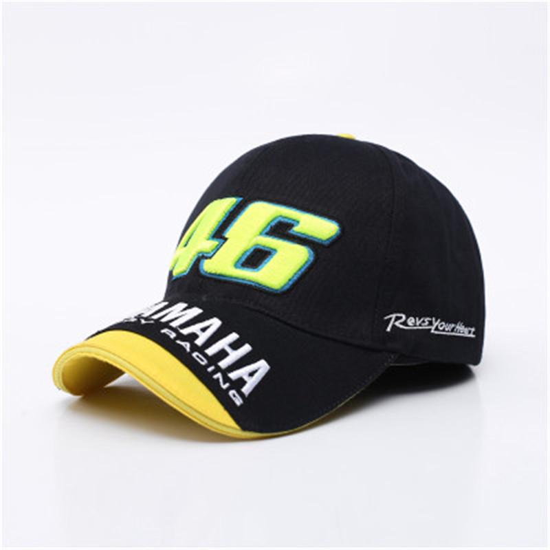 Snapback Hats Blue Rossi 46 Embroidery YAMAHA Baseball Cap Hat Motorcycle Racing Caps Bone Men Women-buy at a low prices on Joom e-commerce platform
