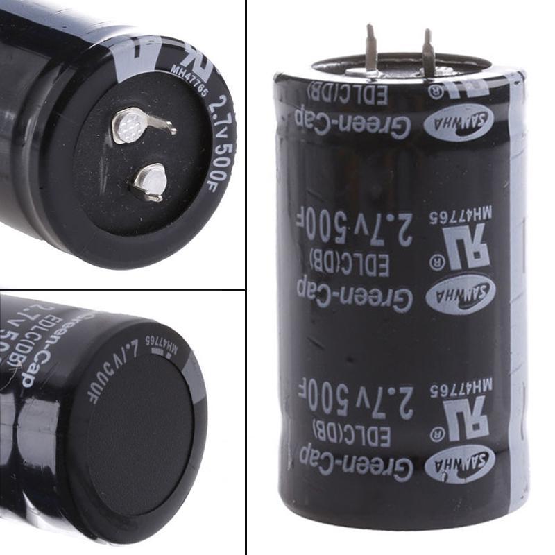 1pcs 2.7V 500F SAMWHA Supercapacitor Car capacitor  35*60