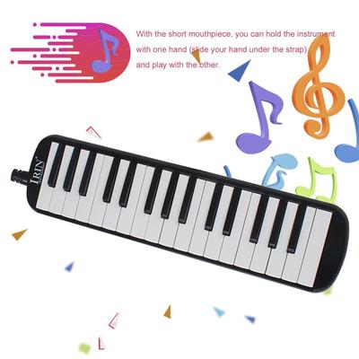 GS IRIN 32 Keys Melodica Students Musical Instrument Harmonica Mouth Organ