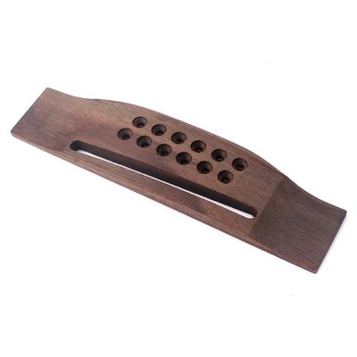 Guitar Parts Replacement Rosewood Bridge Suitable for 12-String Acoustic guitar