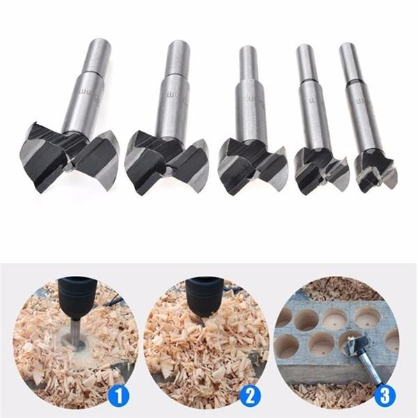90mm CNC Carbide Hinge Boring Drill Bit Woodworkers Wood Hole Saw Cutter
