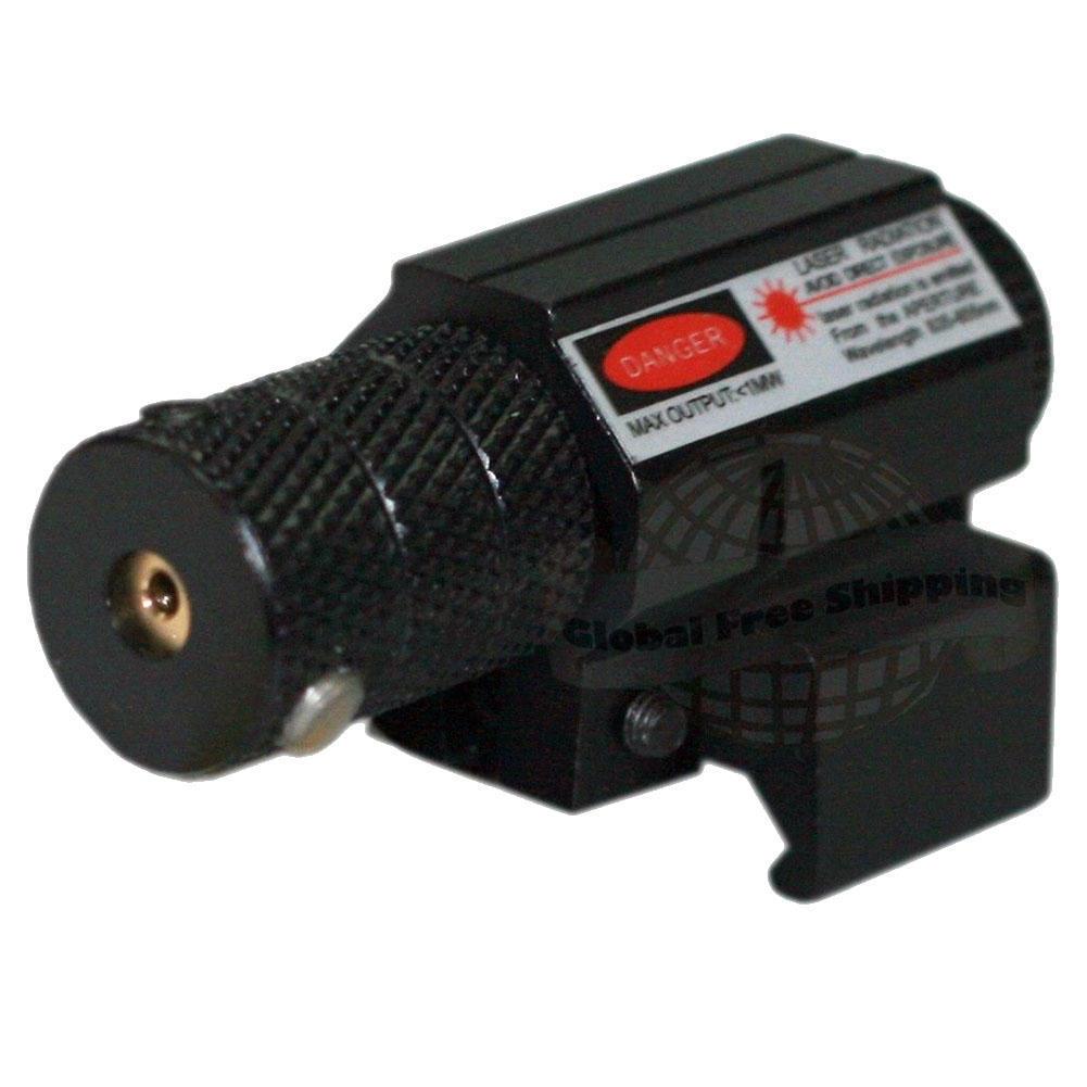 11MM taktische rote Laser Beam Leuchtpunktvisier für Gewehr Pistole ...