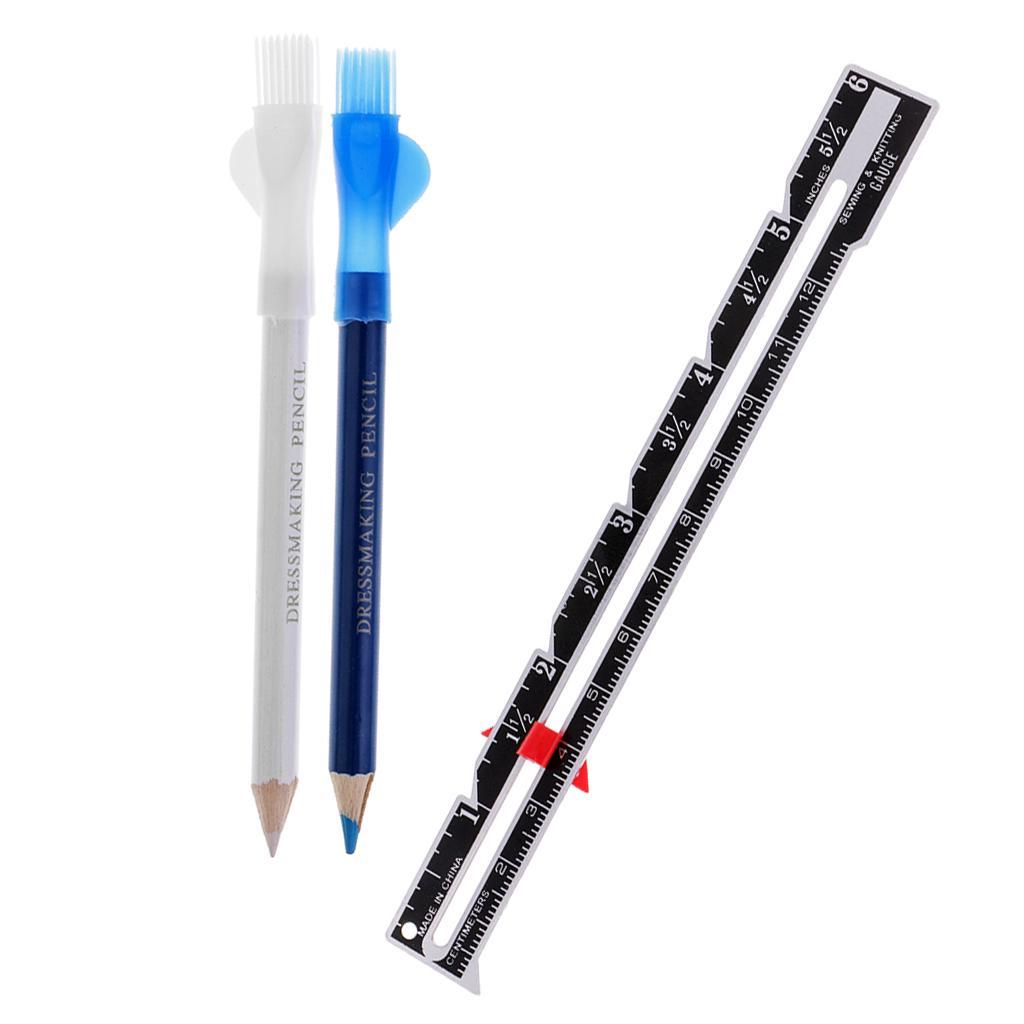 8Pcs Tailors Chalk Pen Pencil for Sewing Dressmakers DIY Craft Markers Pens