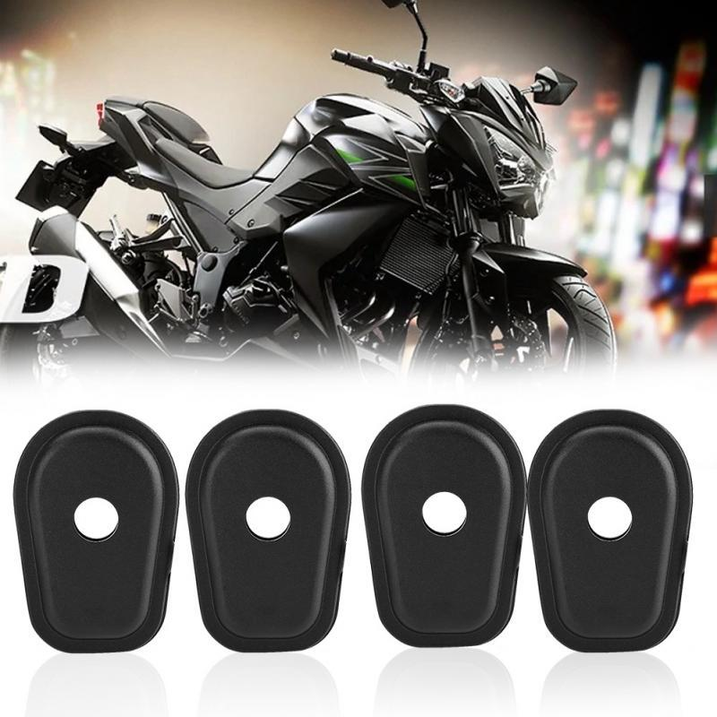 4 X MOTORCYCLE TURN SIGNAL CARBON LOOK FOR KAWASAKI NINJA 250R EX250 VERSYS NEW