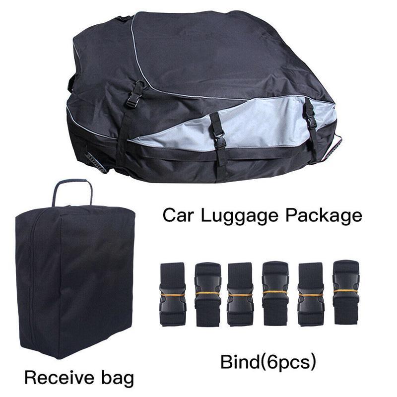 Waterproof Car Roof Top Rack Bag Cargo Carrier Luggage  160*110*45cm