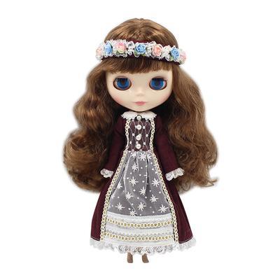 MagiDeal 1//6 Girl Doll Elastic Fishnet Stockings for Blythe Doll Accs Red