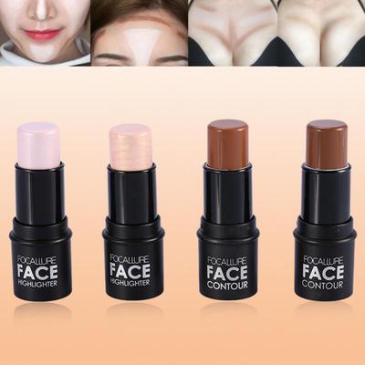 4Types Women's Facial Contour Highlighting Stick Shimmer Makeup Tool Face Makeup