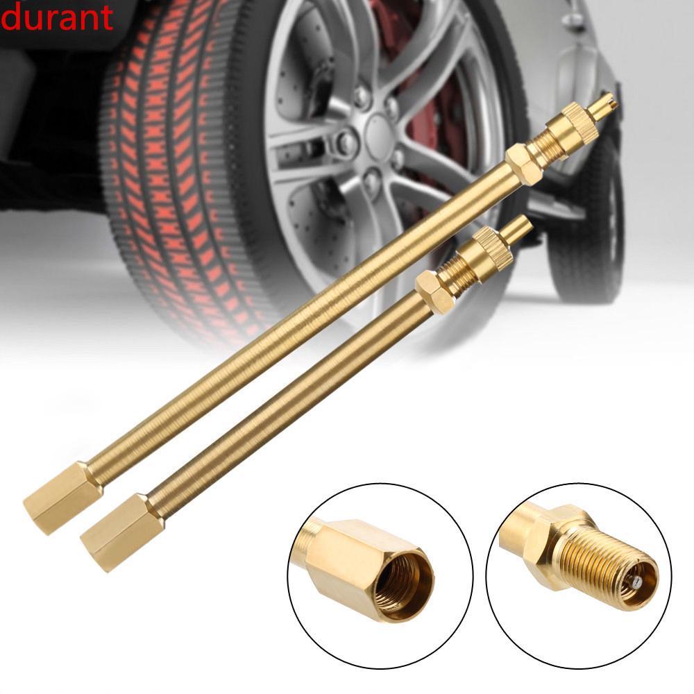 Tire Car Truck Adapter Motorcycle Brass Extension Stem Tyre Valve