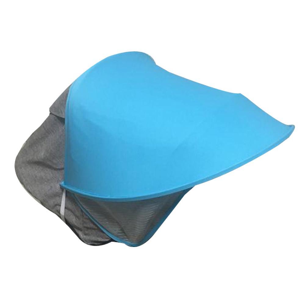 r/églable anti-UV coupe-vent anti-moustiques Pare-soleil pour poussettes de si/ège de voiture Universel Pare-soleil pour auvent avec moustiquaire pour b/éb/é poussettes